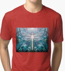 Dragonfly Dreaming Tri-blend T-Shirt