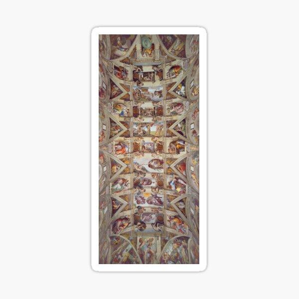 Sistine Chapel Ceiling Sticker