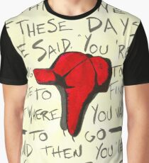 The Catcher in the Rye - Holden's Red Hunting Cap Graphic T-Shirt