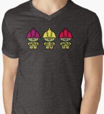 Chibi-Fi Doozers Men's V-Neck T-Shirt