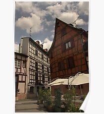 Strasbourg Houses Poster