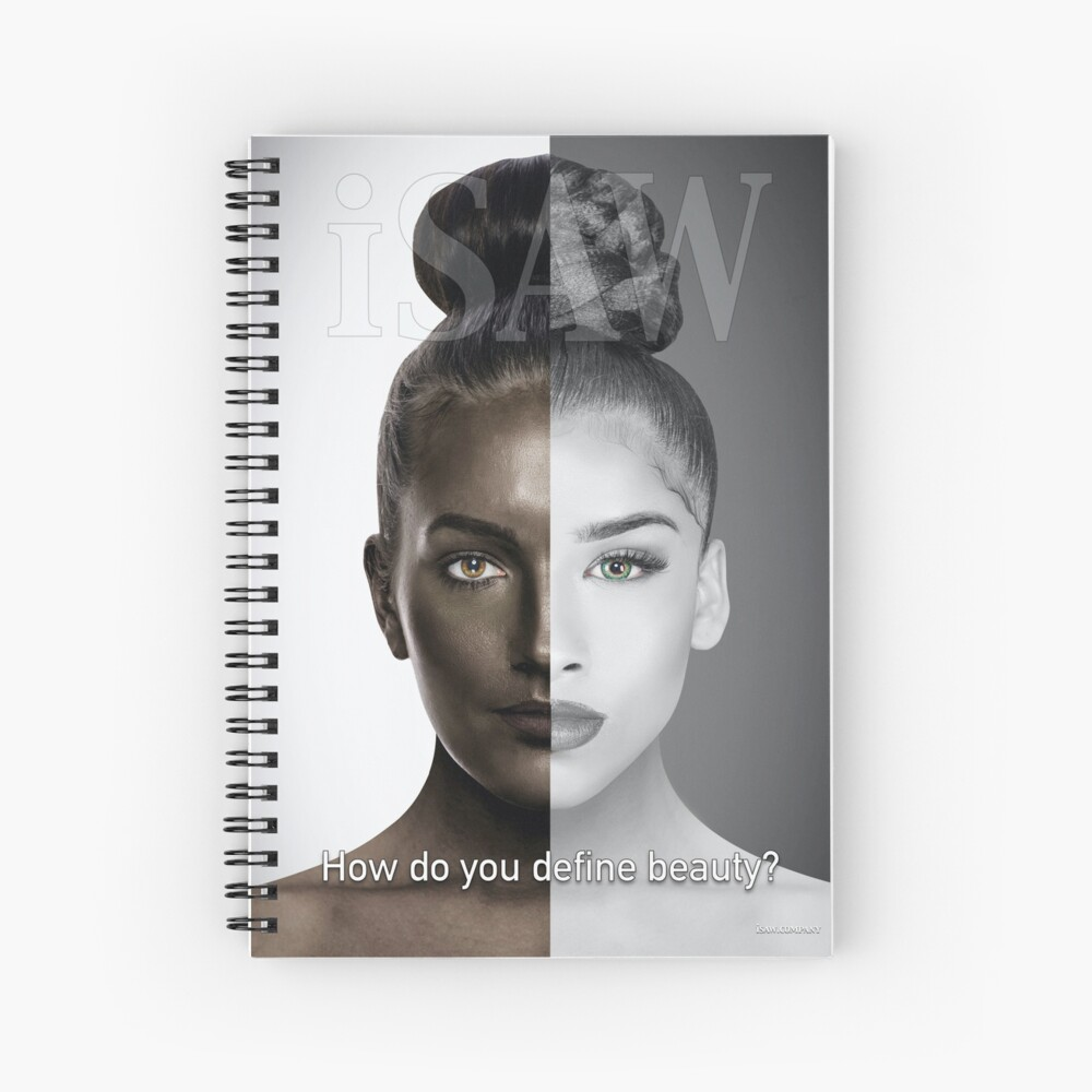 How Do You Define Beauty Spiral Notebook