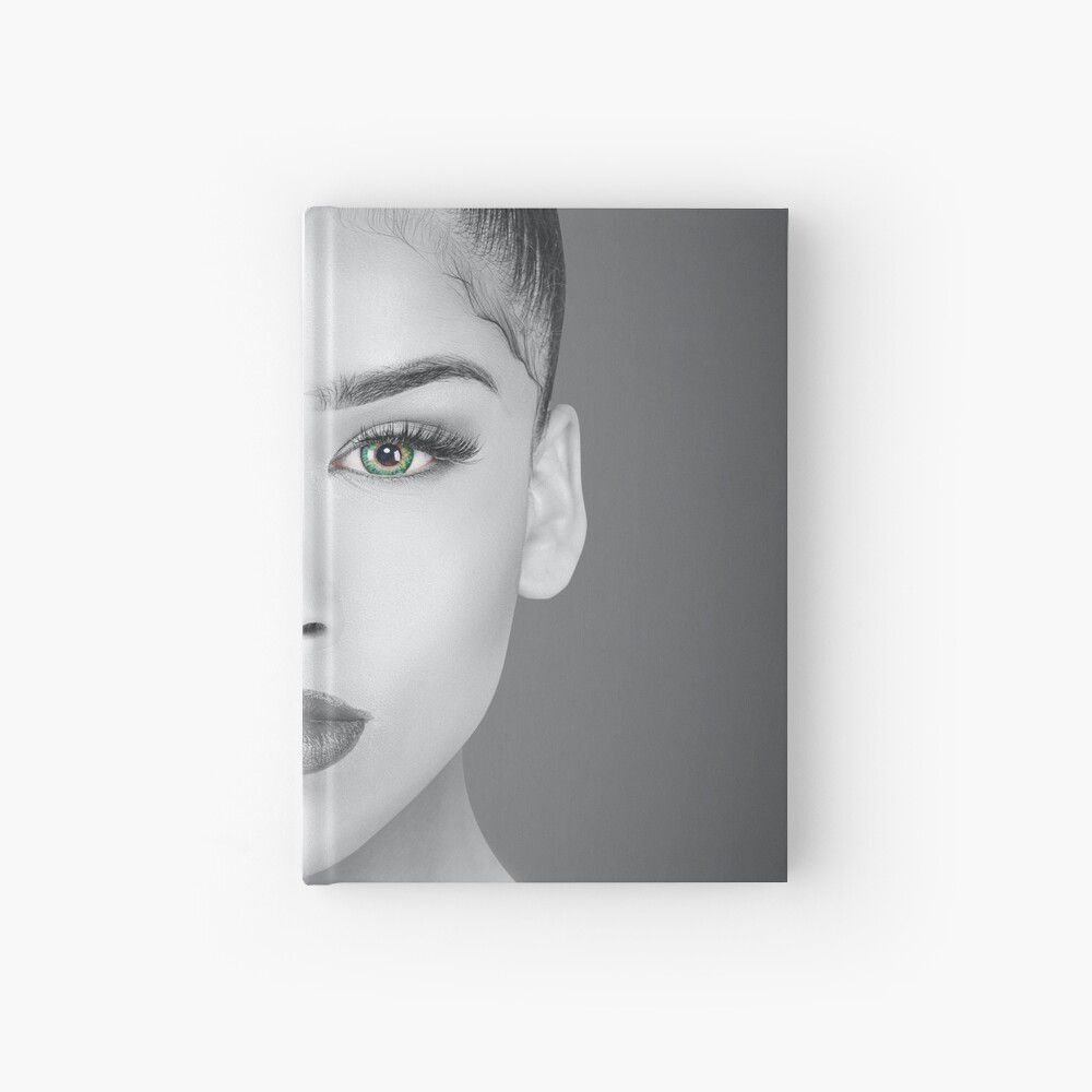 How Do You Define Beauty Hardcover Journal