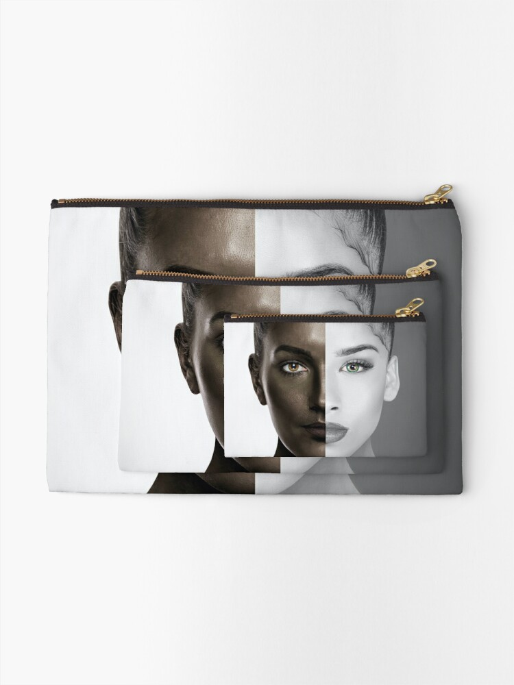 Alternate view of How Do You Define Beauty Zipper Pouch