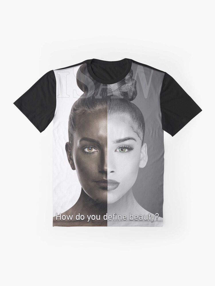 Alternate view of How Do You Define Beauty Graphic T-Shirt