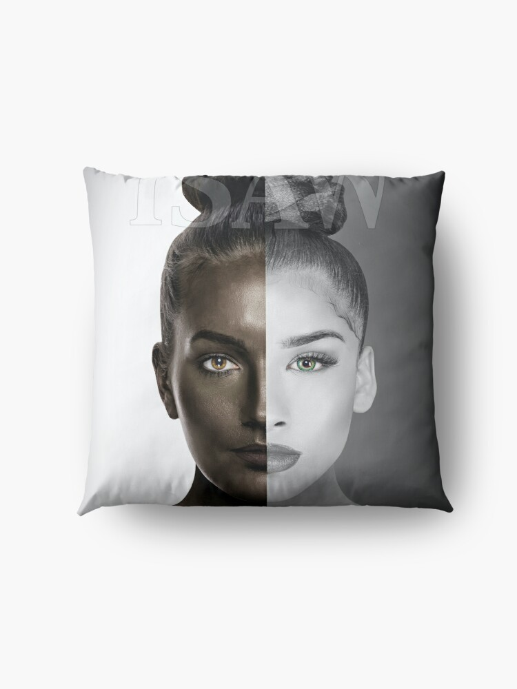 Alternate view of How Do You Define Beauty Floor Pillow