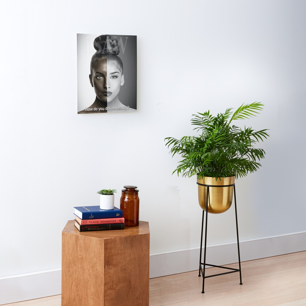 How Do You Define Beauty Mounted Print