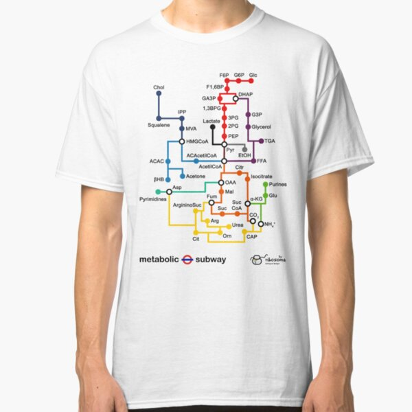Metabolic subway Classic T-Shirt