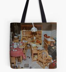 Doll House Kitchen Tote Bag