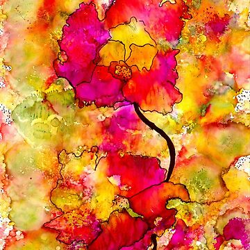 Floral Duet by alwfineart