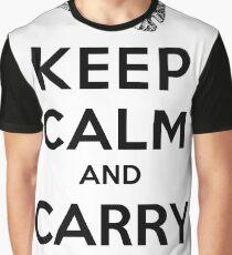 Keep Calm: Dragonglass (Black) Graphic T-Shirt