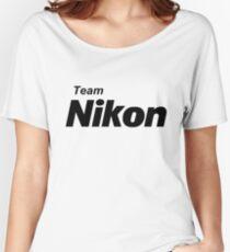 Team Nikon! Women's Relaxed Fit T-Shirt