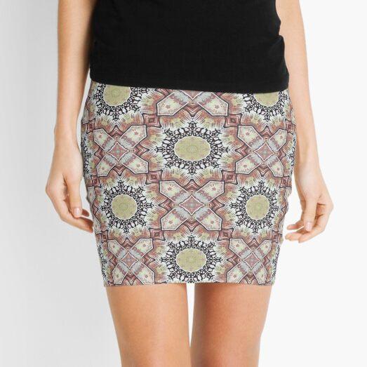 texture pattern 1 Mini Skirt