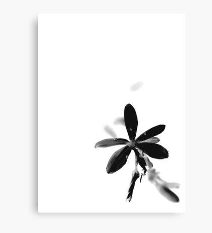 Inverted Flower Canvas Print