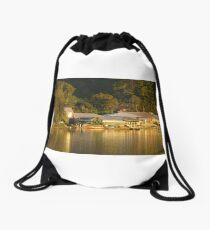 golden Woy Woy Drawstring Bag