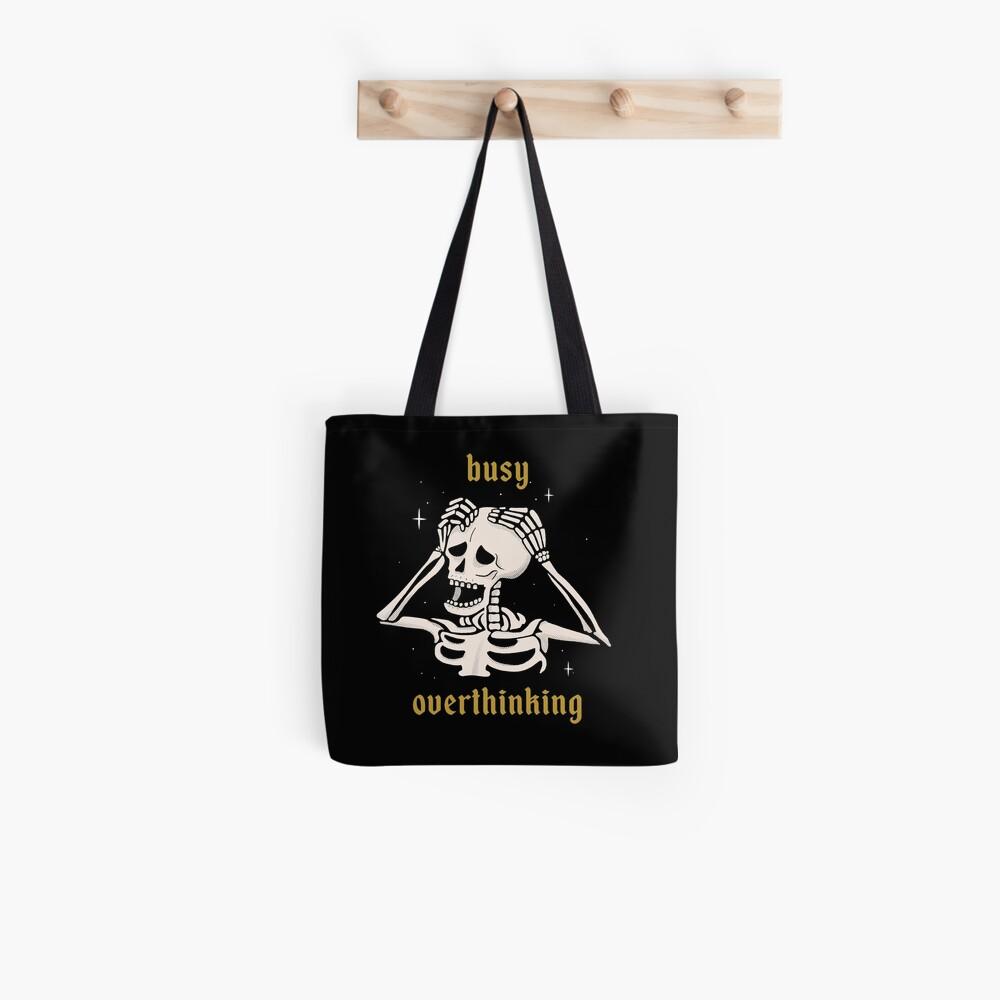 Busy Overthinking Tote Bag