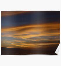 Sunset In December - Puesta Del Sol En Diciembre Poster