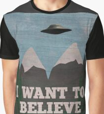 X-Files Twin Peaks mashup Graphic T-Shirt