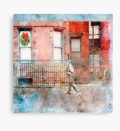Christmas Uptown Canvas Print