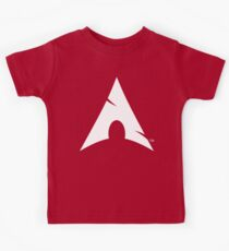 Big-A Arch Linux White Kids Tee
