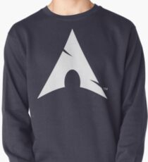 Big-A Arch Linux White Pullover