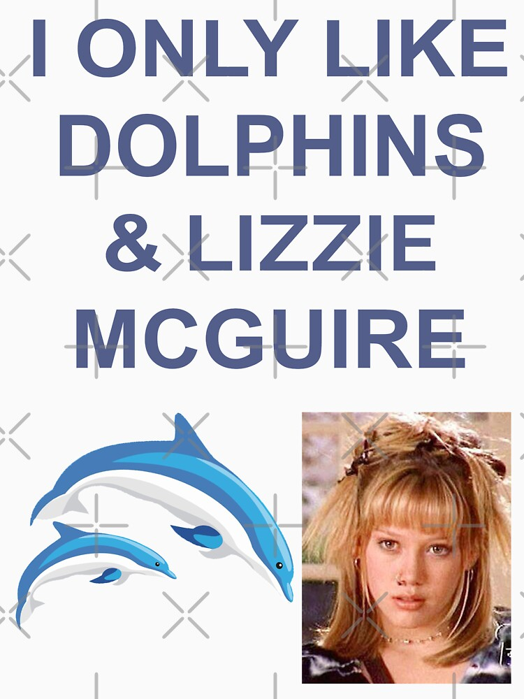 I ONLY LIKE DOLPHINS AND LIZZIE MC GUIRE by AmineDalghich