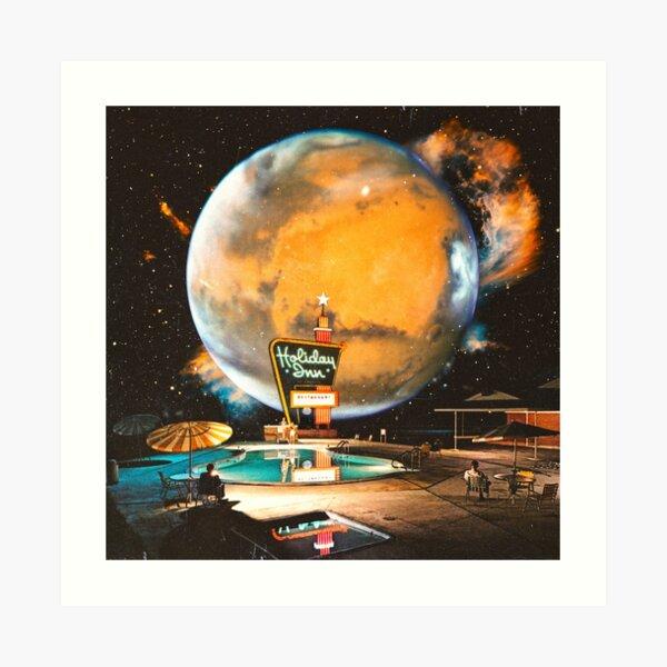 The Holiday Inn Space Art Print