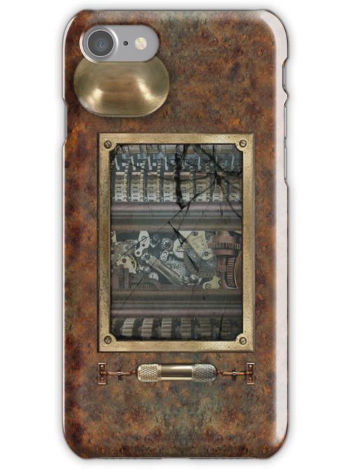 Steampunk iPhone Case by Brent Borup