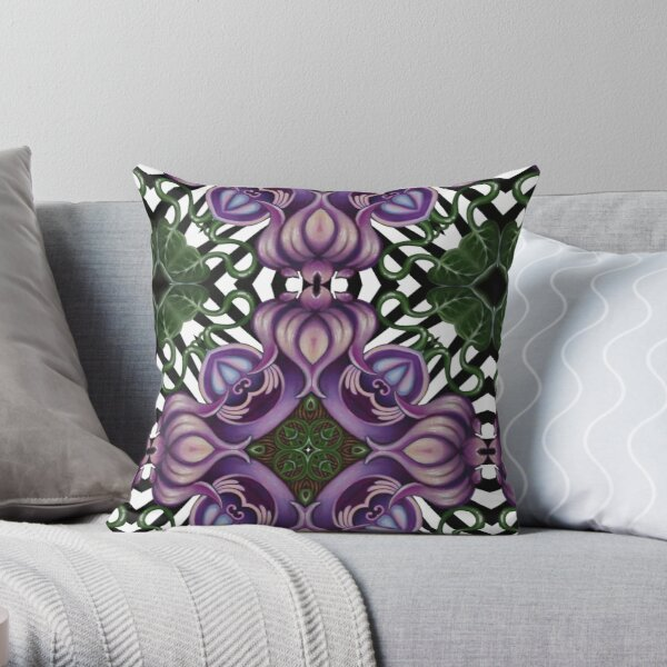 Amarylus  Throw Pillow