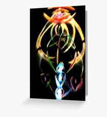 ascension codes Greeting Card