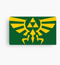 Crest Of Hyrule Canvas Print