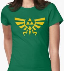 Crest Of Hyrule Women's Fitted T-Shirt