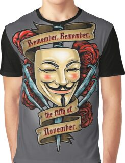 Fifth of November Graphic T-Shirt