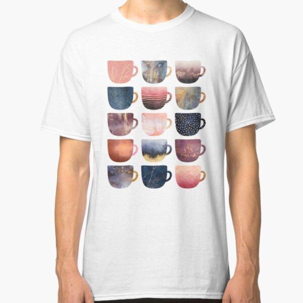 Pretty Coffee Cups 2 Classic T-Shirt
