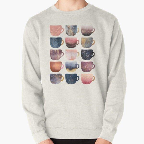 Pretty Coffee Cups 2 Pullover Sweatshirt