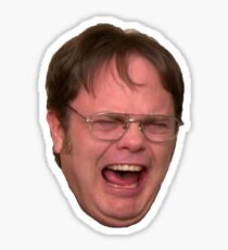 The Office – Dwight Crying Sticker