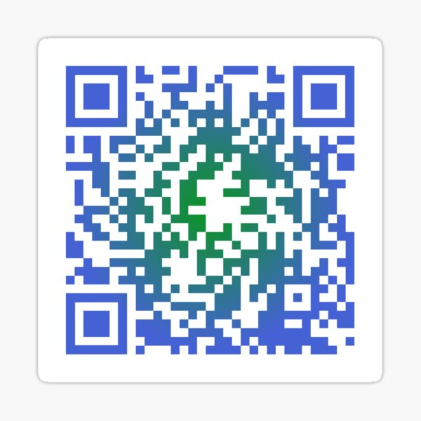 Sea Shanty 2 - QR Code Sticker
