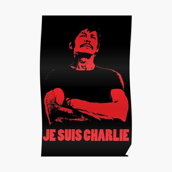 Charles Bronson - Je Suis Charlie Poster