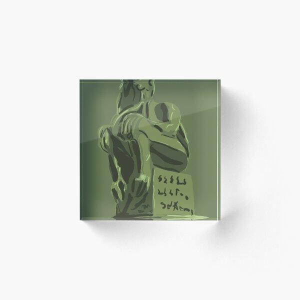 Eldritch Idol Acrylic Block