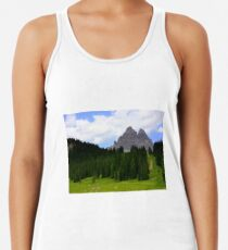 Camiseta con espalda nadadora Tre Cime di Lavaredo