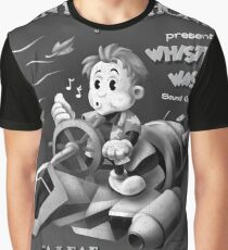 Shiny Symphonies: Whistlin' Wash Graphic T-Shirt