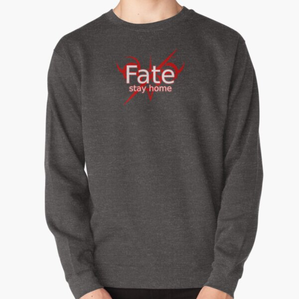 Fate Stay Home, Fate Stay Night Funny, Fate Meme, Anime Fate Stay Night  Pullover Sweatshirt