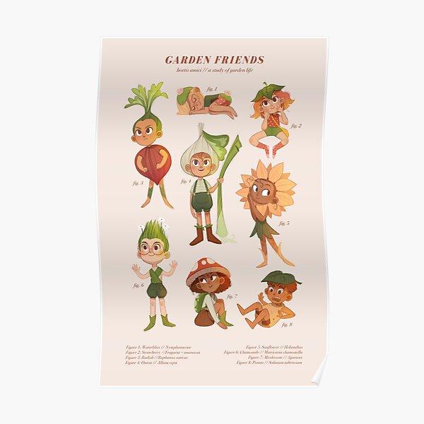 Garden Friends (Light) Poster