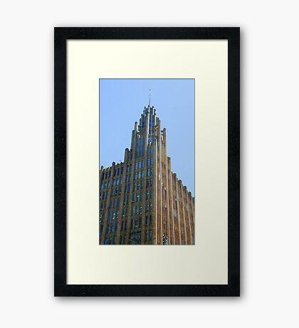 Manchester Unity Building, Melbourne Framed Print