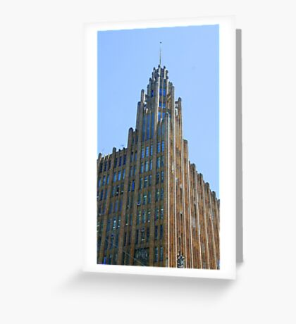 Manchester Unity Building, Melbourne Greeting Card