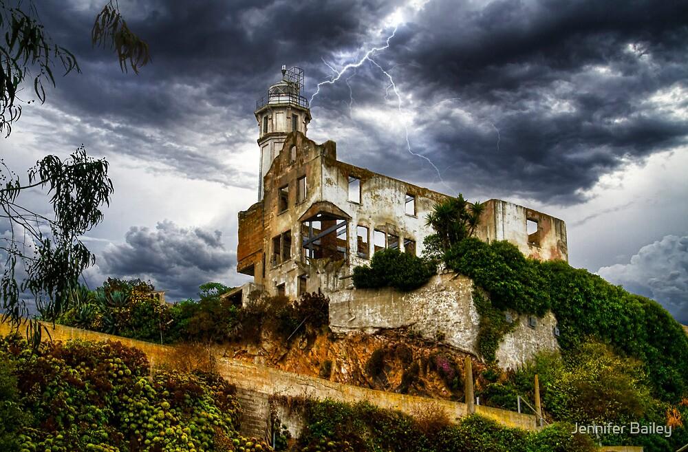 Alcatraz Storm, San Francisco Bay, California, USA by Jennifer Bailey