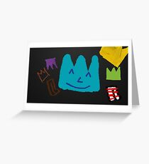 Crown Party Greeting Card