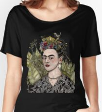 Frida Kahlo Self Portrait #2 (my version) Women's Relaxed Fit T-Shirt