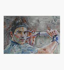 Roger Federer - 6 Photographic Print