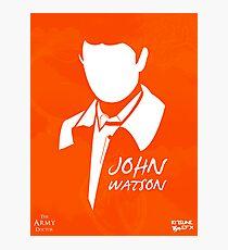 John H Watson Photographic Print